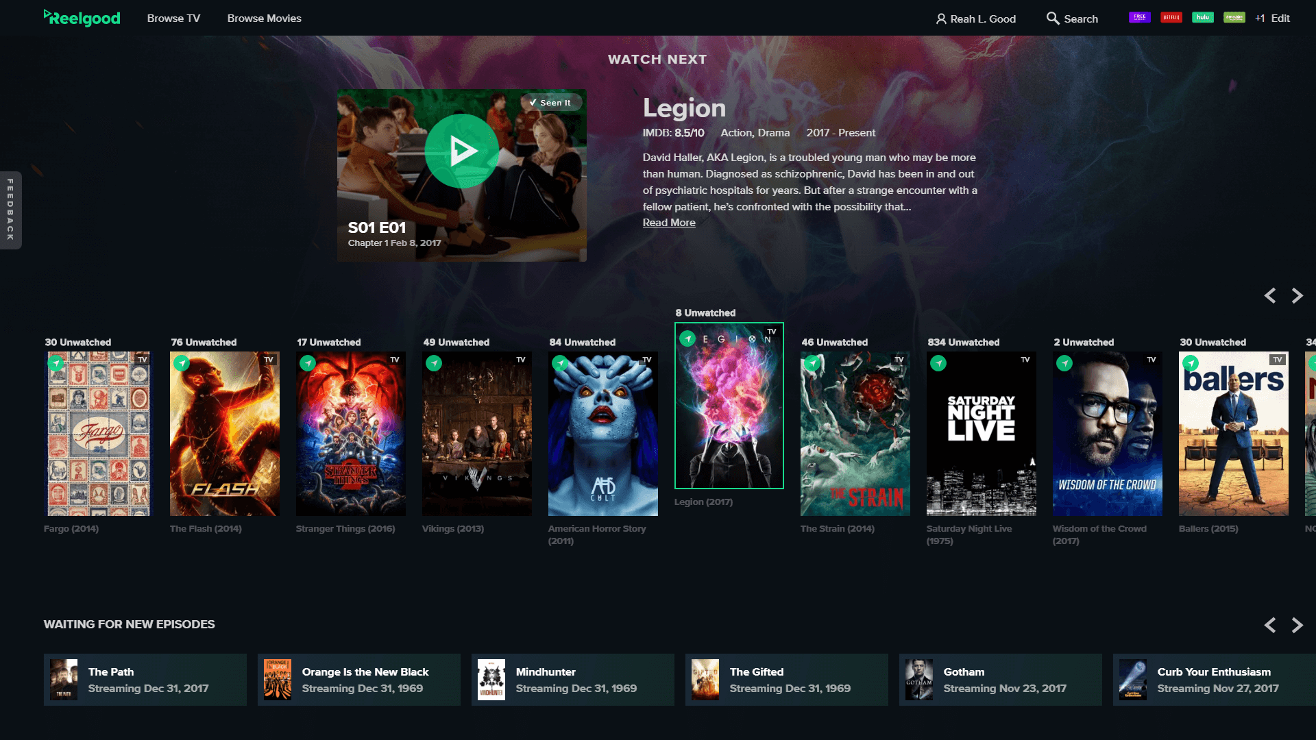 Reelgood | Where to Stream Movies & TV Shows on Every Service